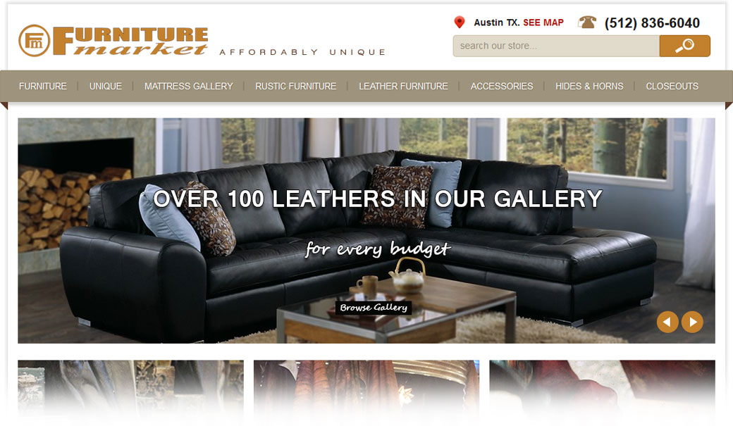 Furniture Market Improves Local Awareness With Better