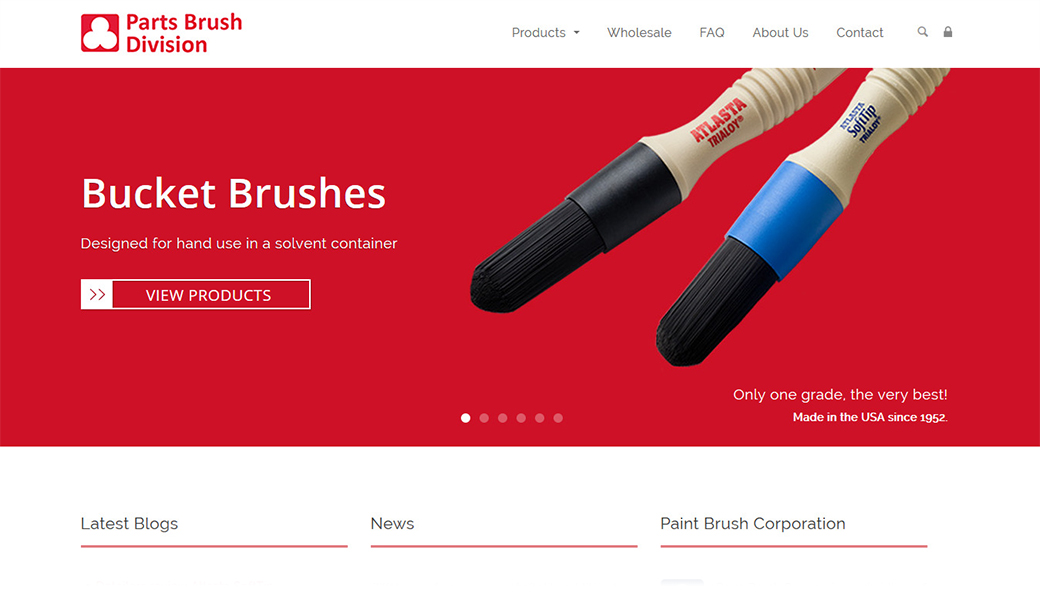 partsbrush on page