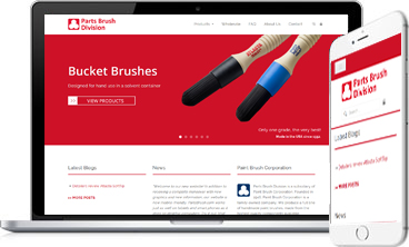 PartsBrush.com Redesigns its Ecommerce Website
